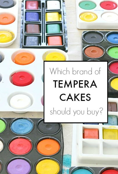 Comparing Different Brands of Tempera Cakes~ BuggyandBuddy.com