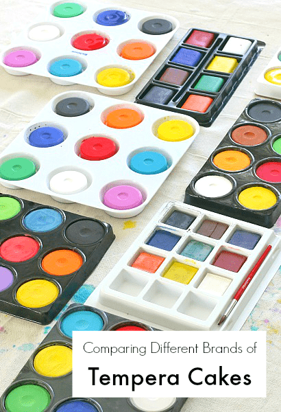 What are tempera cakes and which brands were our favorites?~ BuggyandBuddy.com
