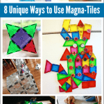 8 Unique Ways to Use Magna-Tiles (Perfect STEM toy!)