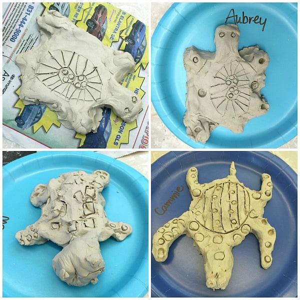 Ocean Animal Activities for Kids: Make Clay Sea Turtles