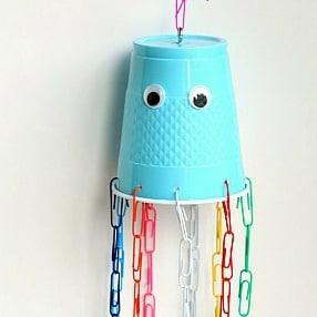 Fine Motor Jellyfish Craft for Kids