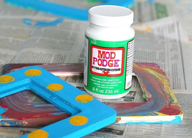 seal your bird feeder paint