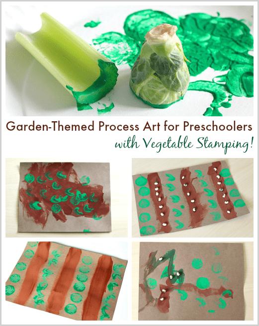 Preschool Vegetable Garden Crafts