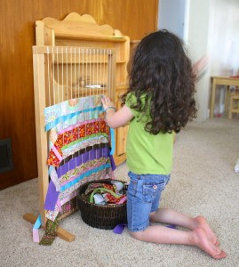 using a classroom loom