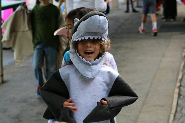 shark costume for kids