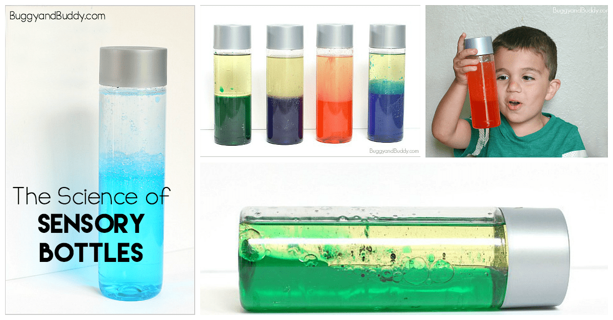 Exploring Liquid Density With Sensory Bottles Free Printable Buggy And Buddy