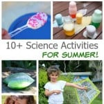 10+ Hands-on Science Activities for Kids Perfect for Summer