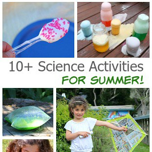 Over 10 outdoor science activities for kids perfect for summer!