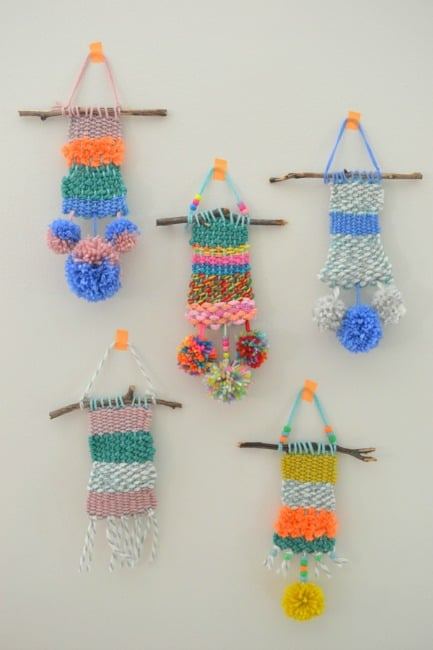 15 Unique Homemade Looms for Weaving with