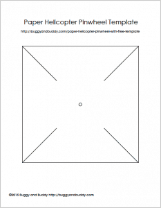free pinwheel template for science activity for kids