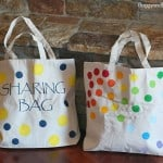 DIY Tote Bag for Kids Using Stencils