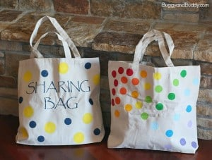 DIY Tote Bag Using Stencils