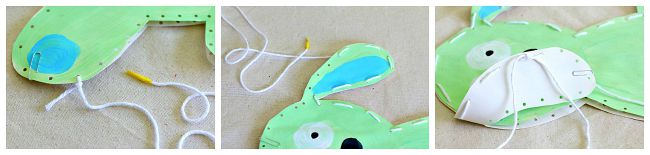 make a stuffed knuffle bunny art project