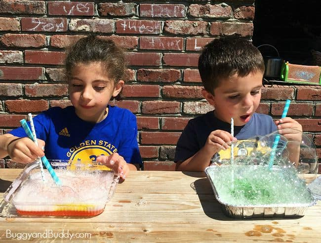 bubble science and math