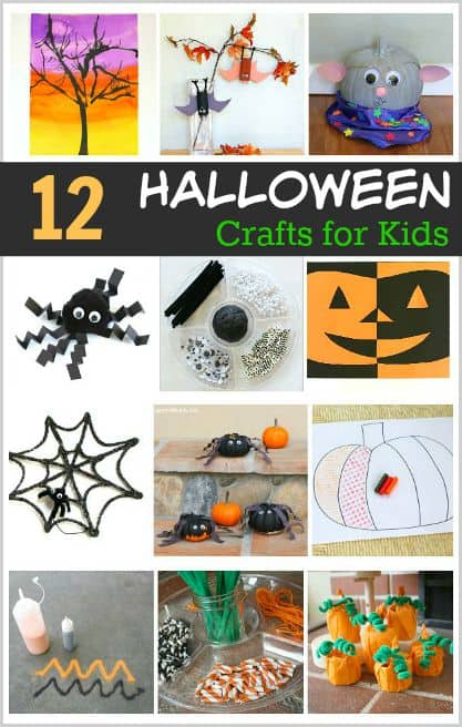 12 awesome halloween crafts and art projects for kids for Awesome crafts for kids