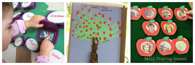 Family History Activities for Kids
