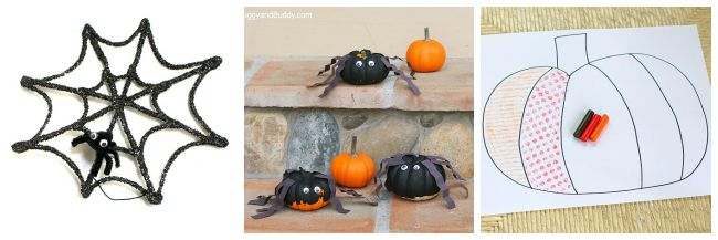 halloween art projects for kids