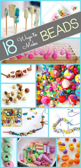 Crafts for Kids: 18 Ways to Make Beads