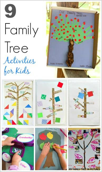 9 Family Tree Activities For Kids Buggy And Buddy