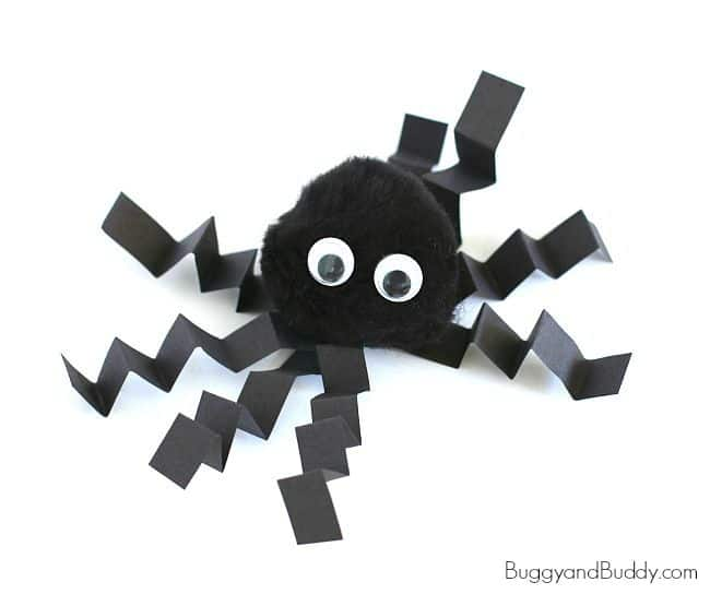 Spider Crafts For Toddlers