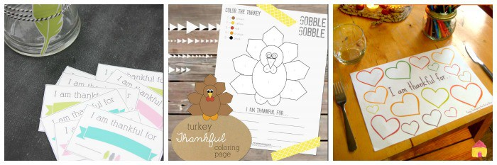 Gratitude Printables for Kids