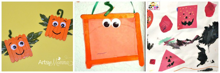 Spookley The Square Pumpkin Activities For Kids on Fall Art Projects For Kids Textured Pumpkins Using Crayon