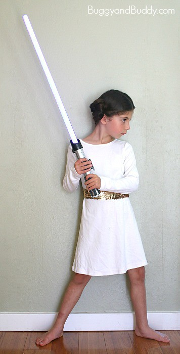 how to make princess leia dress