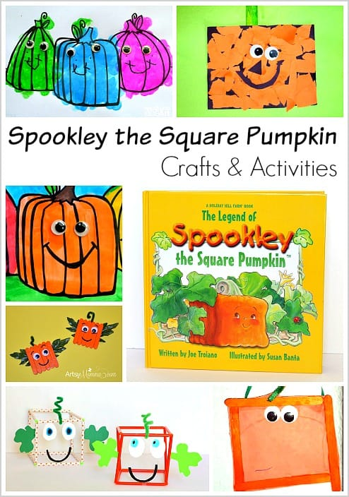 Spookley the Square Pumpkin Activities and Crafts (Perfect for Halloween!)