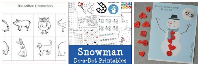 free winter printables