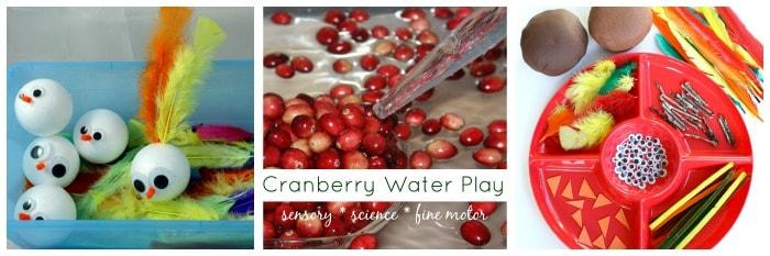 thanksgiving sensory play ideas
