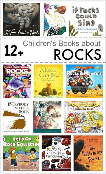 12 Childrens Books About Rocks Buggy And Buddy