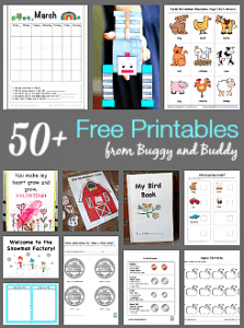 Over 50 Free Printables for Kids