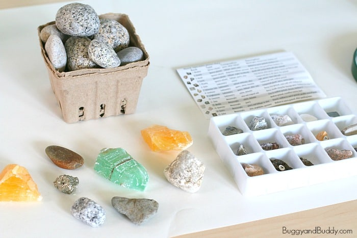science for kids: Learning about rocks