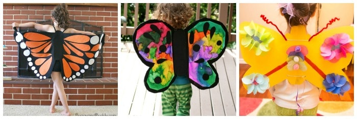 how to make butterfly wings