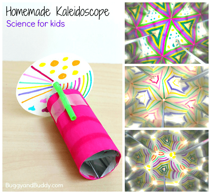 Prepare Your Child For Stem Subjects: Science For Kids: How To Make A Kaleidoscope