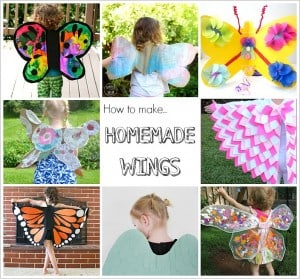 12 DIY Wings to Make for Kid Costumes