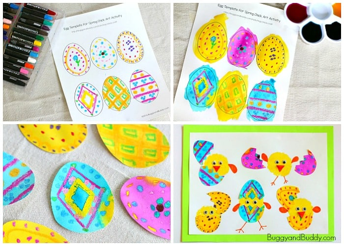 easter craft ideas for primary school hatching craft for buggy and buddy 7673