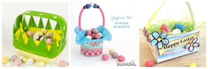 homemade easter basket crafts for kids