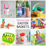 Homemade Easter Baskets: DIY Easter Basket Crafts for Kids