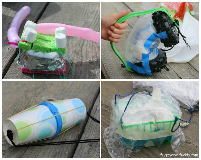 Egg Drop Project 2016: Fun STEM activity for kids- Design an egg contraption to protect a raw egg! (with 2 free printables!)