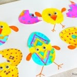 Hatching Spring Chicks Craft for Kids