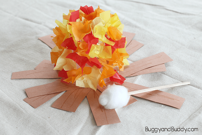 Campfire Crafts For Preschoolers