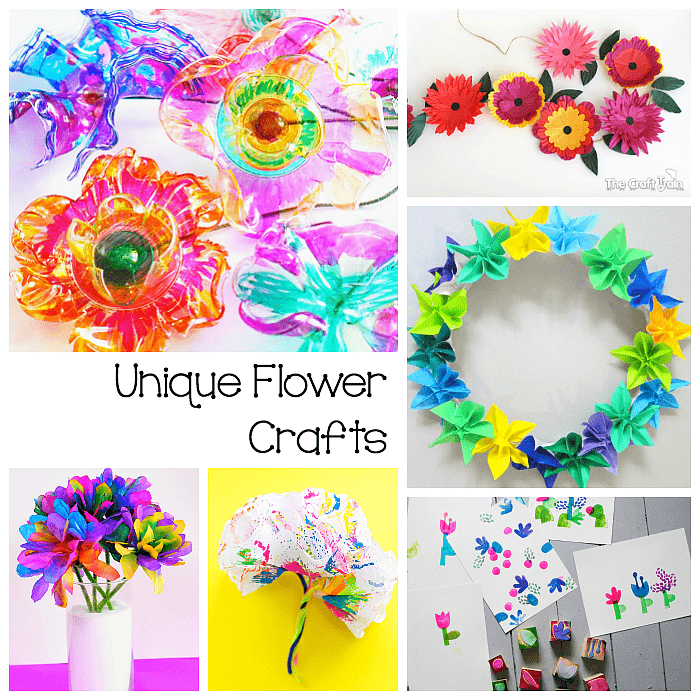 9 Super Cool Flower Crafts For Kids Buggy And Buddy