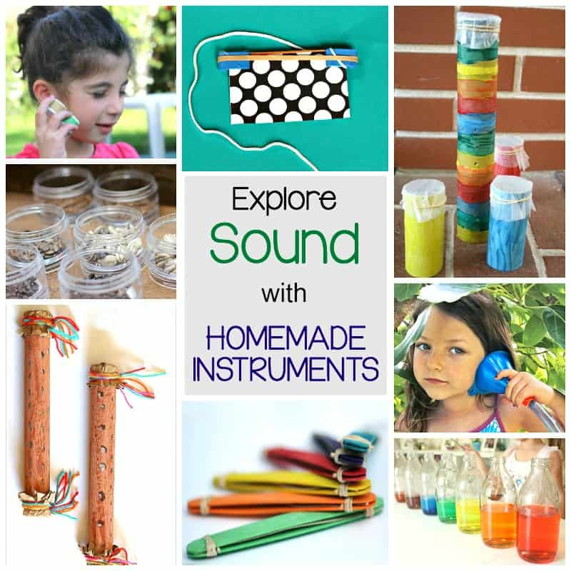 explore the science of sound with homemade instruments