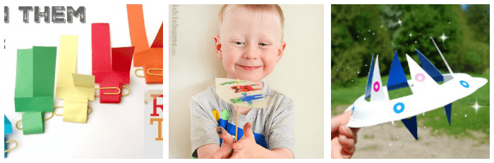 crafts for kids that can fly and glide