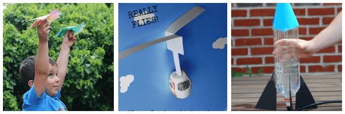 flying crafts for kids