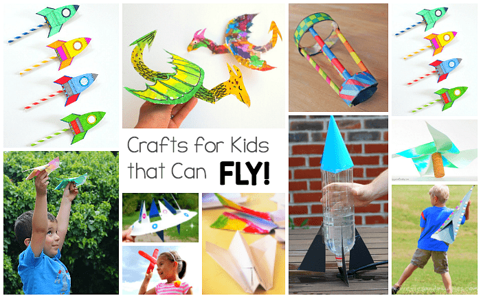 15 Crafts For Kids That Really Fly Buggy And Buddy
