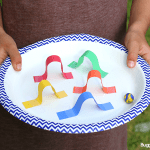 STEM Challenge for Kids: Design a Paper Plate Marble Maze