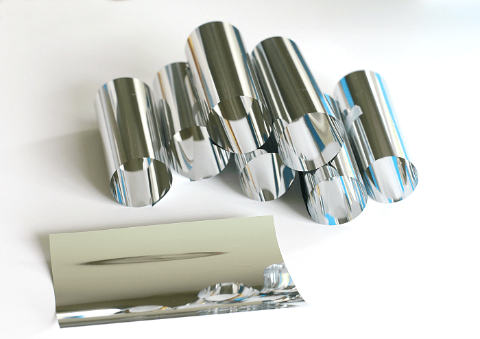 explore light reflections with mylar sheets