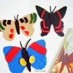 Felt Butterfly Alphabet Activity